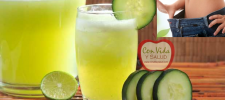 La ayuda perfecta para reducir tu vientre; toma esta bebida casera antes de dormir.
