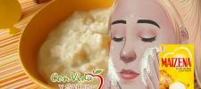 Con esta crema casera hecha de Maizena puedes eliminar manchas, arrugas y patas de gallo de tu rostro.