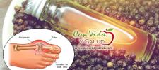 El aceite que remueve el ácido úrico de la sangre, trata la ansiedad y te detiene el vicio por el alcohol y el cigarrillo.