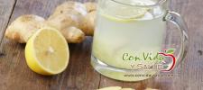 Si bebes agua de jengibre y vez que no surte efecto para bajar de peso, es porque lo estas preparando mal