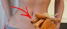 Comer una pizca de canela antes de dormir puede hacerte reducir muchas tallas ¡Te explicamos como!